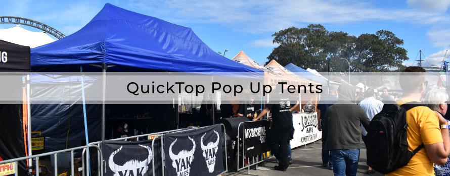 QuickTop Pop Up Tents