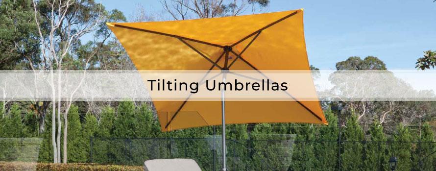 Tilting Umbrellas