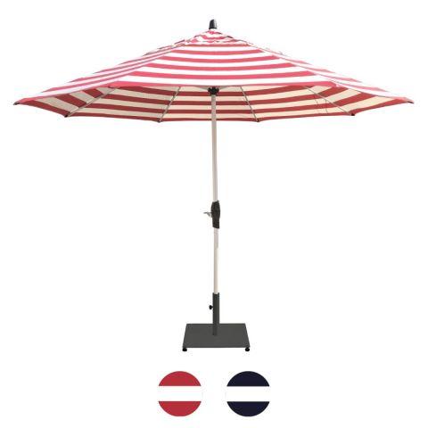 Shelta Fairview Striped Umbrella - Octagonal