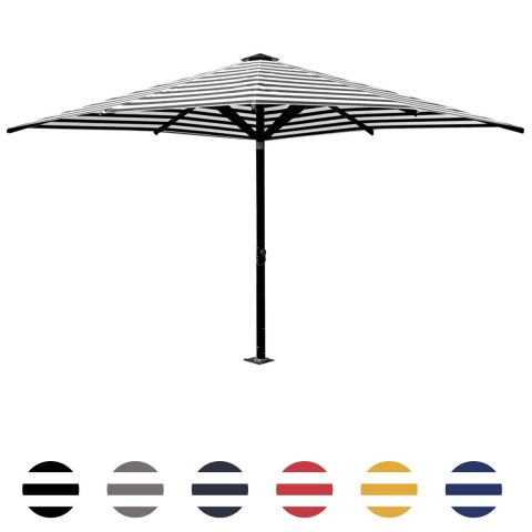 Italian Piazza Commercial - Striped