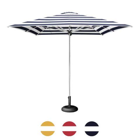 Shelta Striped Coolum Premium Aluminium Umbrella