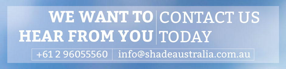 Contact Shade Australia today