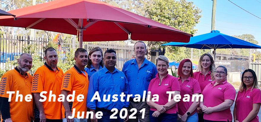 Shade Australia Team